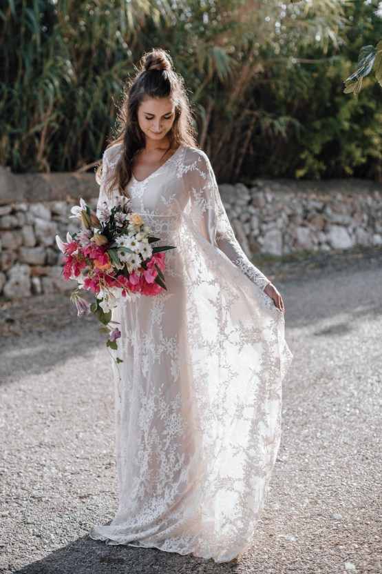 Wild, Spanish Wedding Inspiration For Bohemian Brides | IDO Events | Kevin Klein 21