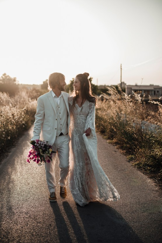 Wild, Spanish Wedding Inspiration For Bohemian Brides | IDO Events | Kevin Klein 31