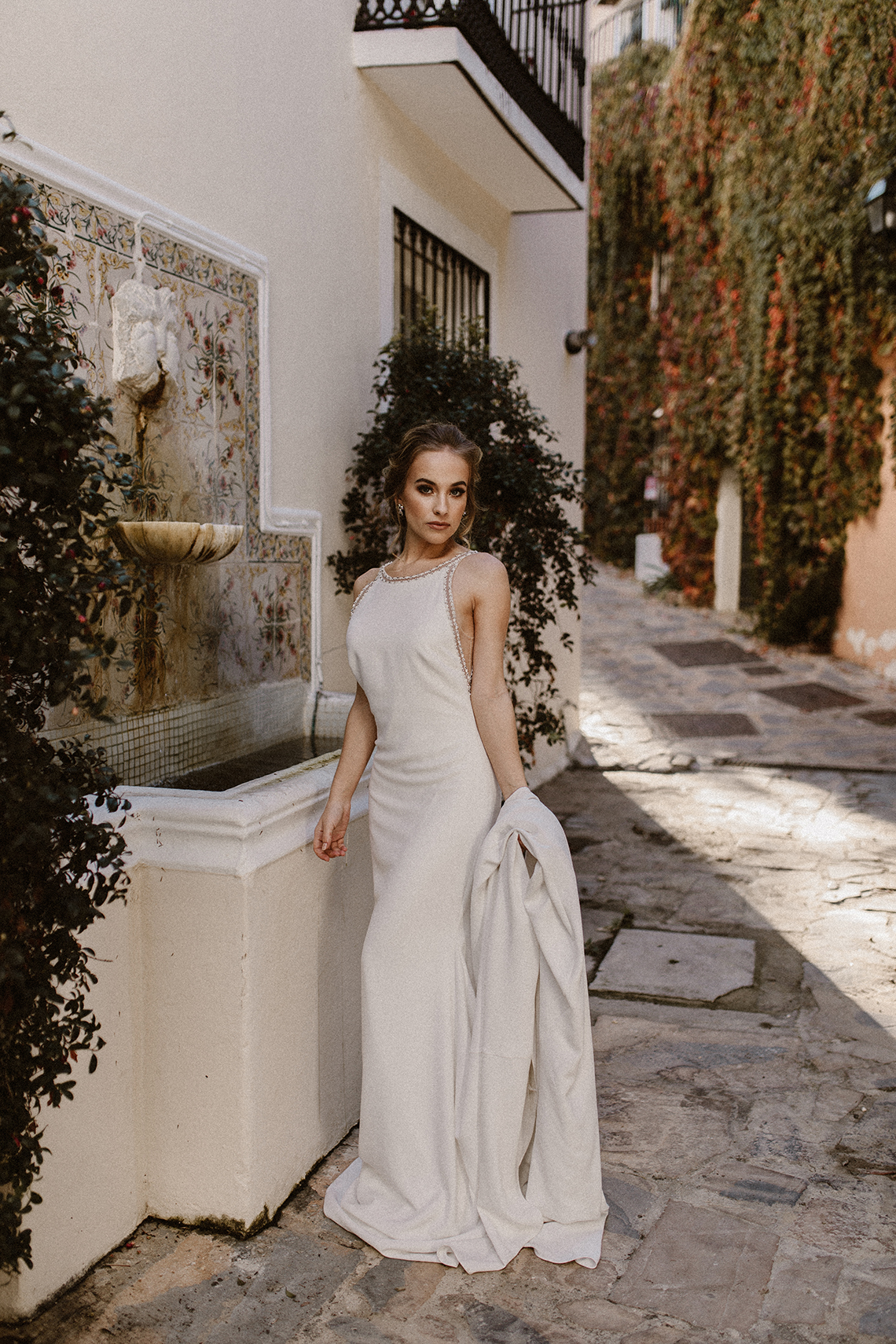 Bougainvillea Wedding Inspiration With Modern Silk Gowns | IDO Events | Kevin Klein 19
