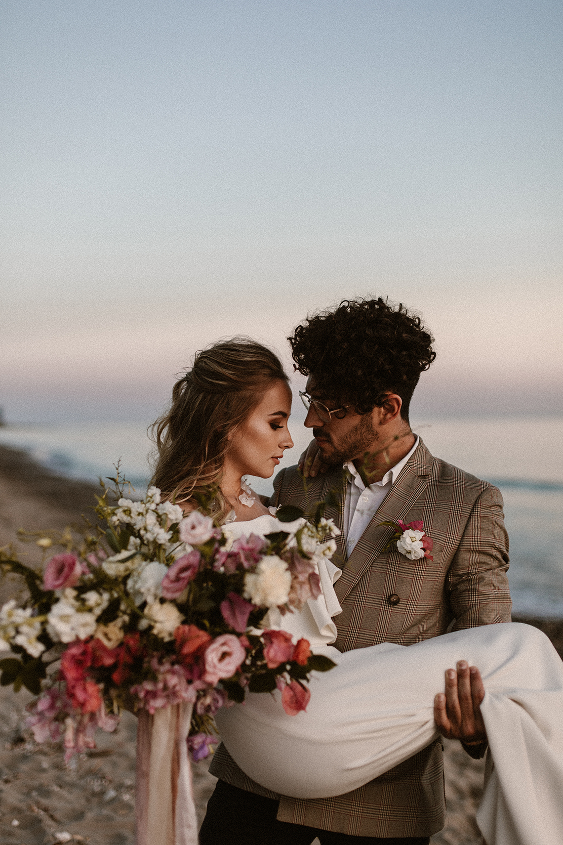 Bougainvillea Wedding Inspiration With Modern Silk Gowns | IDO Events | Kevin Klein 26