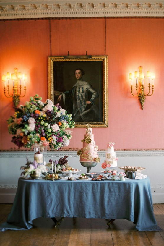 Citrus & Peach Chateau Wedding Inspiration | Lucy Davenport 6