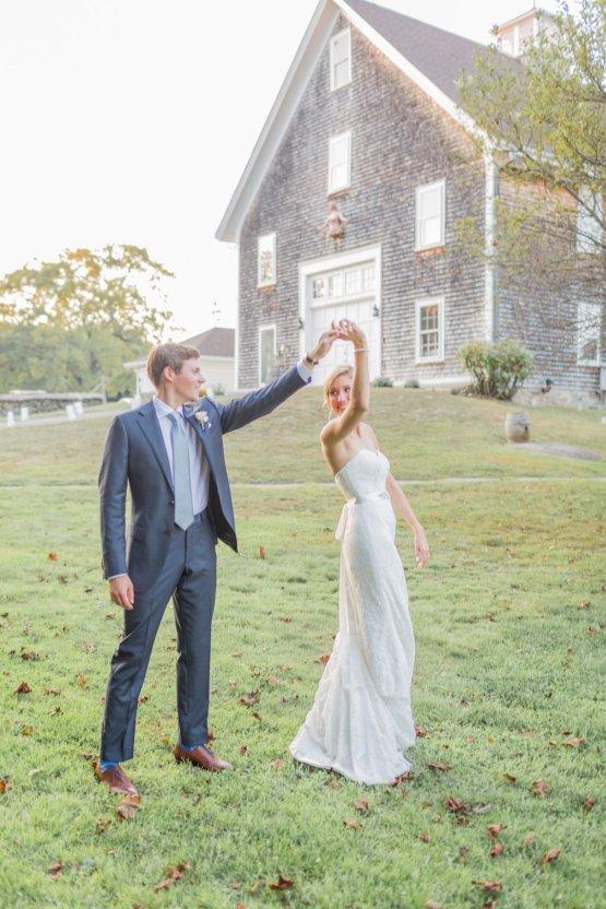 Elegant New England Farm Wedding | Kir Tuben 35