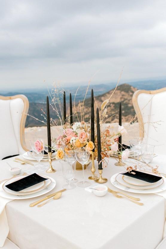 Fashion-forward Black & White Wedding Ideas From Malibu | Babsy Ly 23