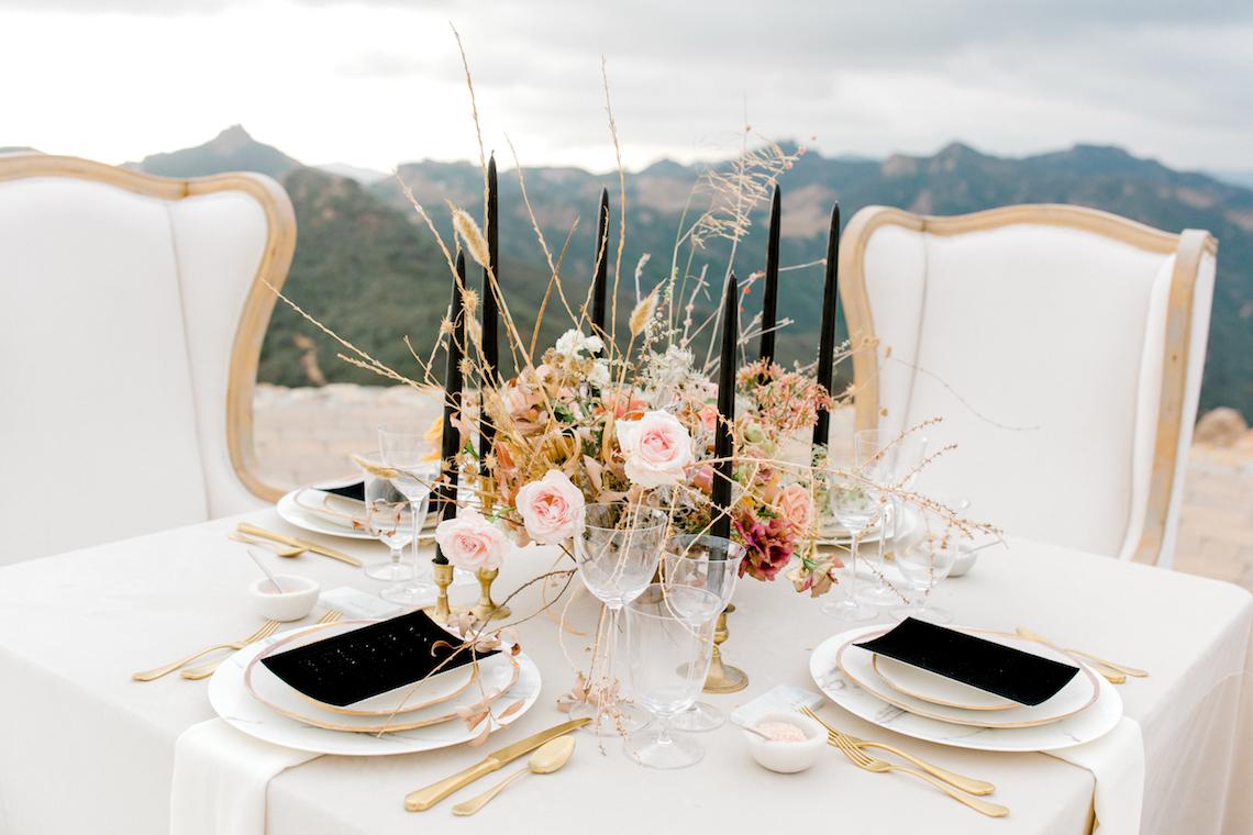 Fashion-forward Black & White Wedding Ideas From Malibu | Babsy Ly 39