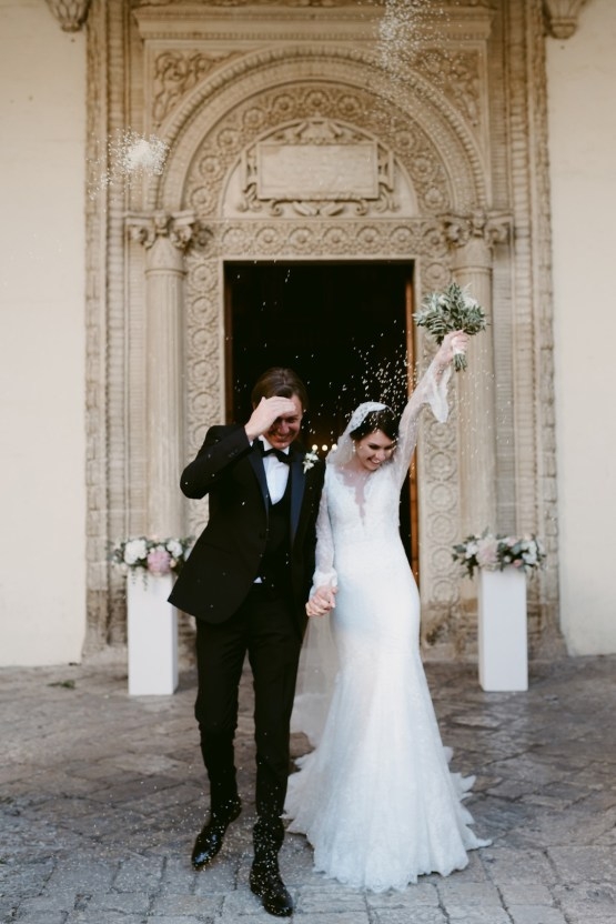 Luxurious Italian Cathedral Wedding On The Seaside | Serena Cevenini 38