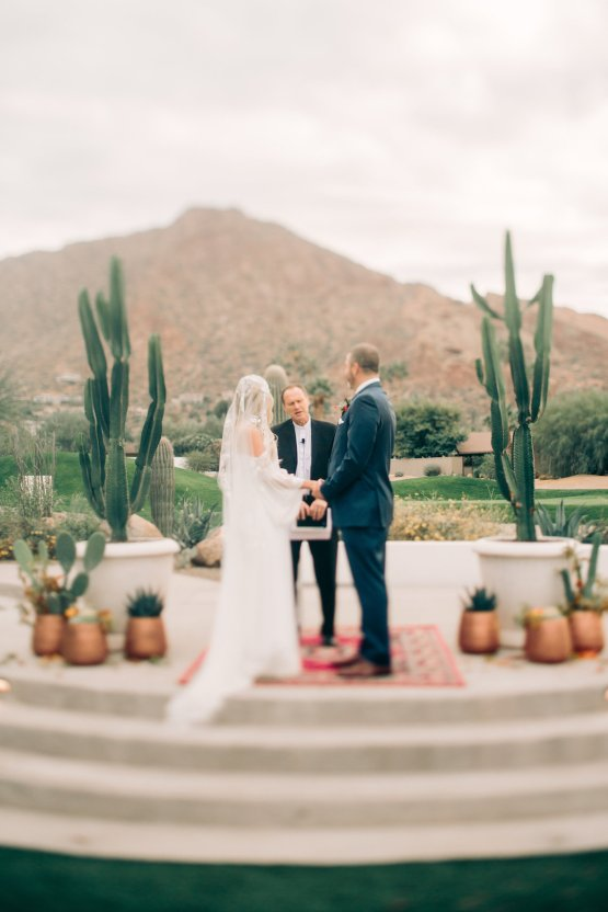 Midcentury Modern Desert Wedding Made Of Boho Dreams | Vienna Glenn 13