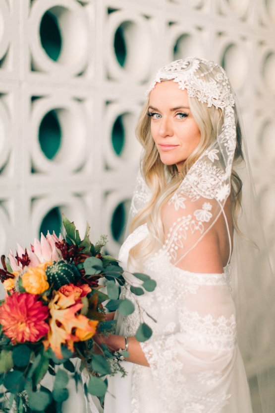 Midcentury Modern Desert Wedding Made Of Boho Dreams | Vienna Glenn 23