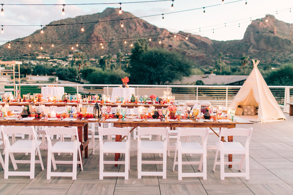 Midcentury Modern Desert Wedding Made Of Boho Dreams | Vienna Glenn 57