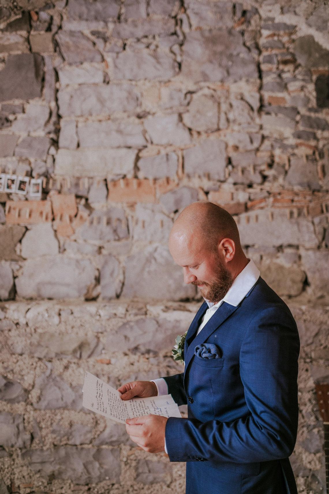 Monstera Leaves & Artichokes; A Hip Slovenian Wedding | Karen Willis Holmes Bridal | Aljosa Videtic 18