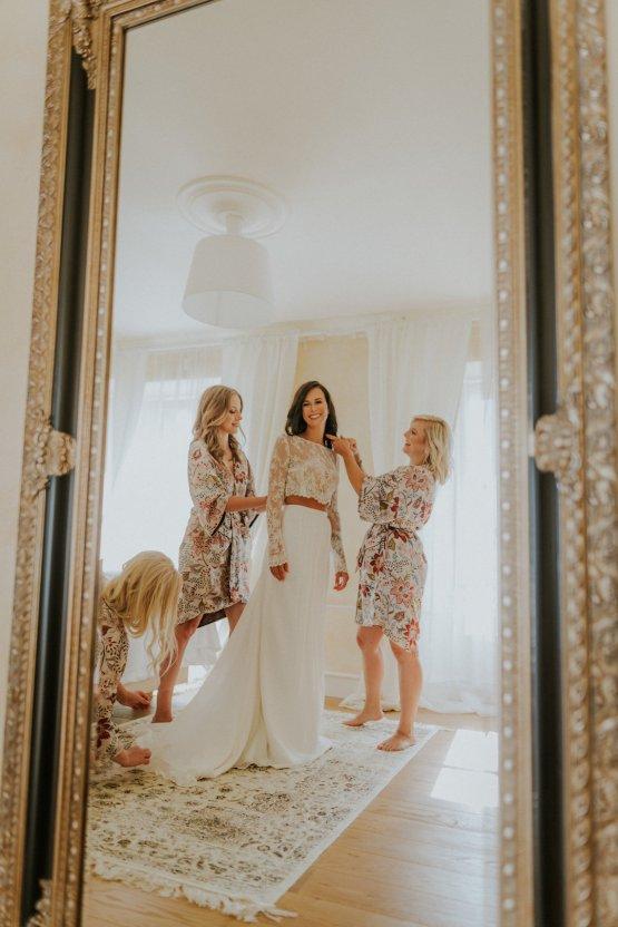 Monstera Leaves & Artichokes; A Hip Slovenian Wedding | Karen Willis Holmes Bridal | Aljosa Videtic 19