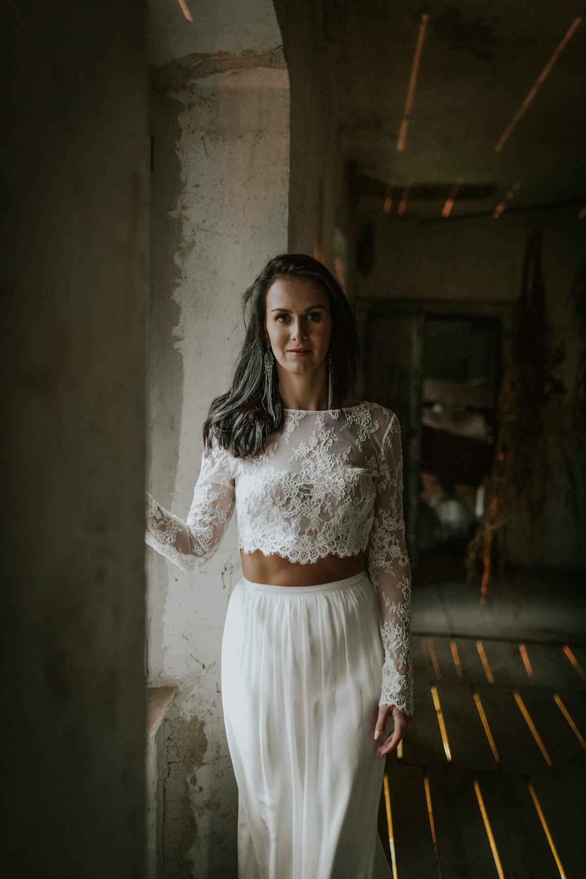 Monstera Leaves & Artichokes; A Hip Slovenian Wedding | Karen Willis Holmes Bridal | Aljosa Videtic 34