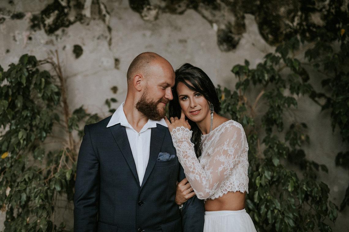Monstera Leaves & Artichokes; A Hip Slovenian Wedding | Karen Willis Holmes Bridal | Aljosa Videtic 9