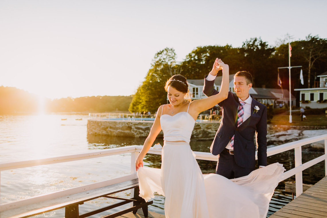 Nautical New England Wedding (With Lobster Rolls!) | Let's Frolic Together 48