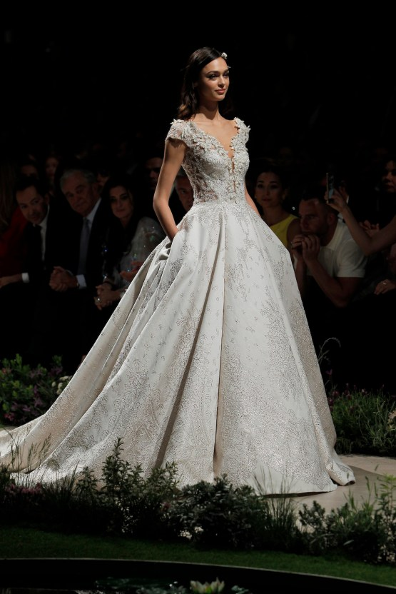 Pronovias 2019 In Bloom Wedding Dress Collection | Celeste 1