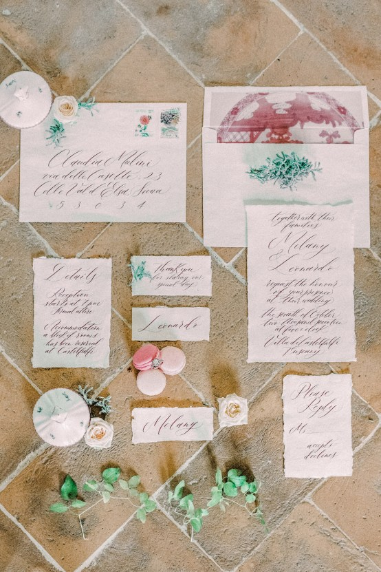 Romantic Italian Countryside Wedding Inspiration | Adrian Wood Photography 58