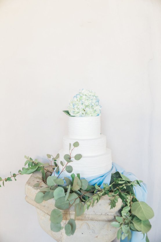 Romantic Watercolor Ideas Featuring A Blue Wedding Dress   Cana Rose Photography 22
