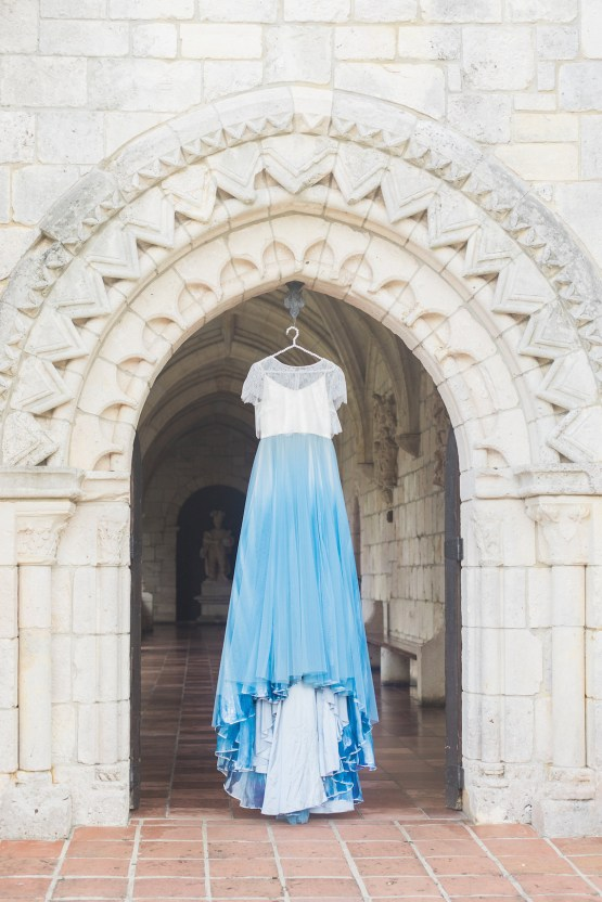 Romantic Watercolor Ideas Featuring A Blue Wedding Dress | Cana Rose Photography 27