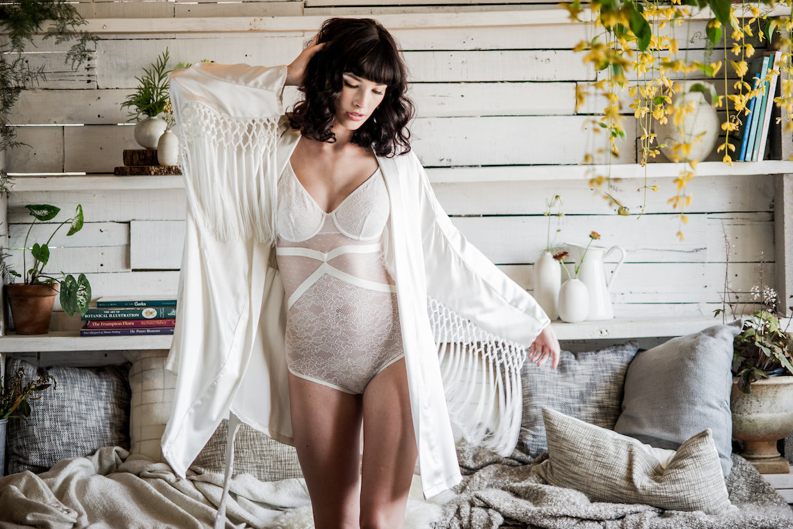Stylish White Honeymoon Outfits To Remind Everyone You're The Bride | Loulette Lingerie Dallas Robe