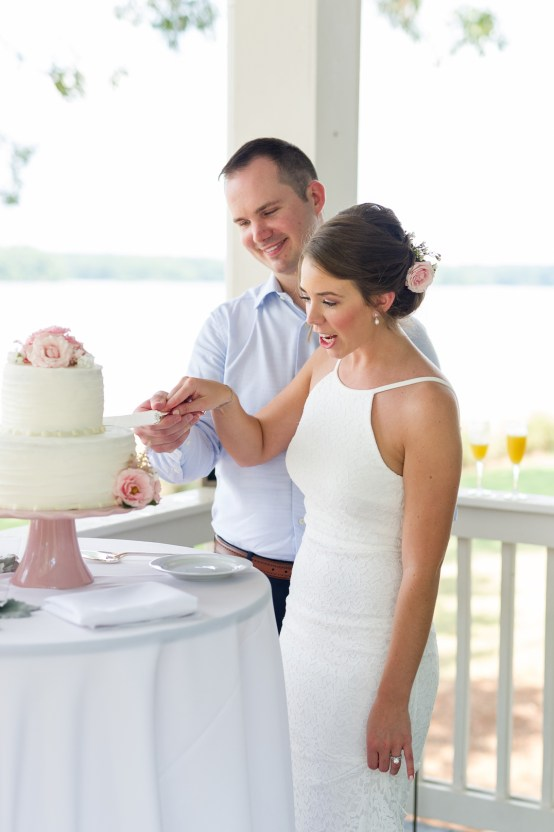Sweet & Intimate Southern Brunch Wedding | Laura Barnes Wedding 26