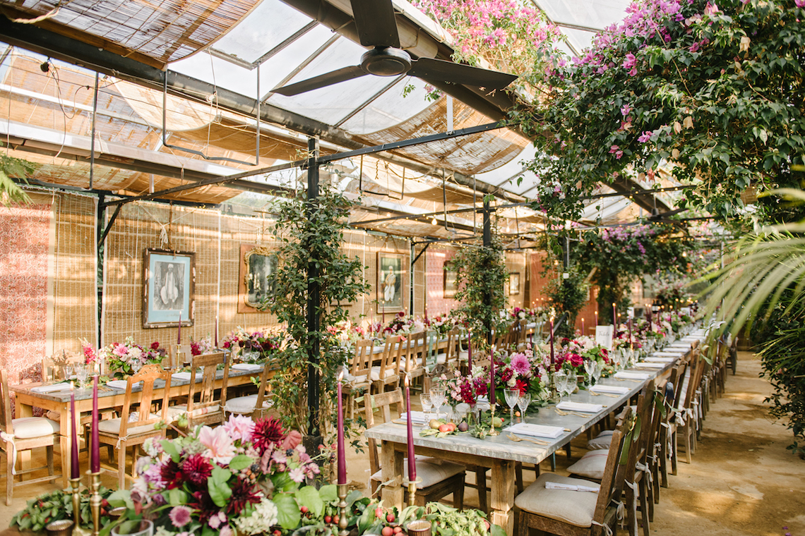 A Floral Explosion At An English Garden Wedding | Dominique Bader 10