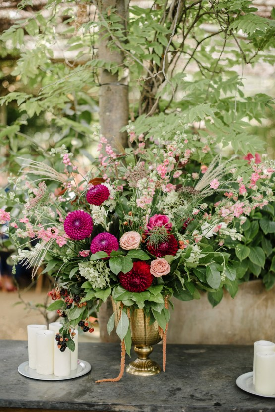 A Floral Explosion At An English Garden Wedding | Dominique Bader 19