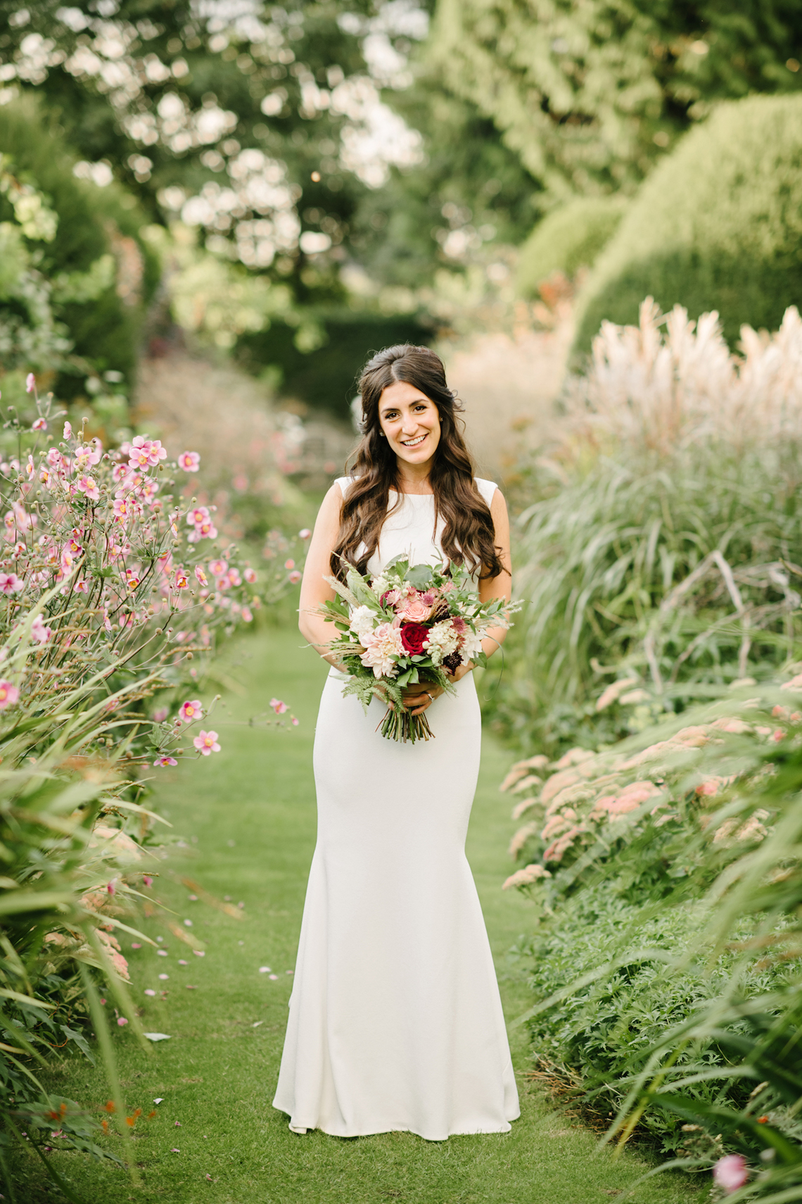 A Floral Explosion At An English Garden Wedding | Dominique Bader 24