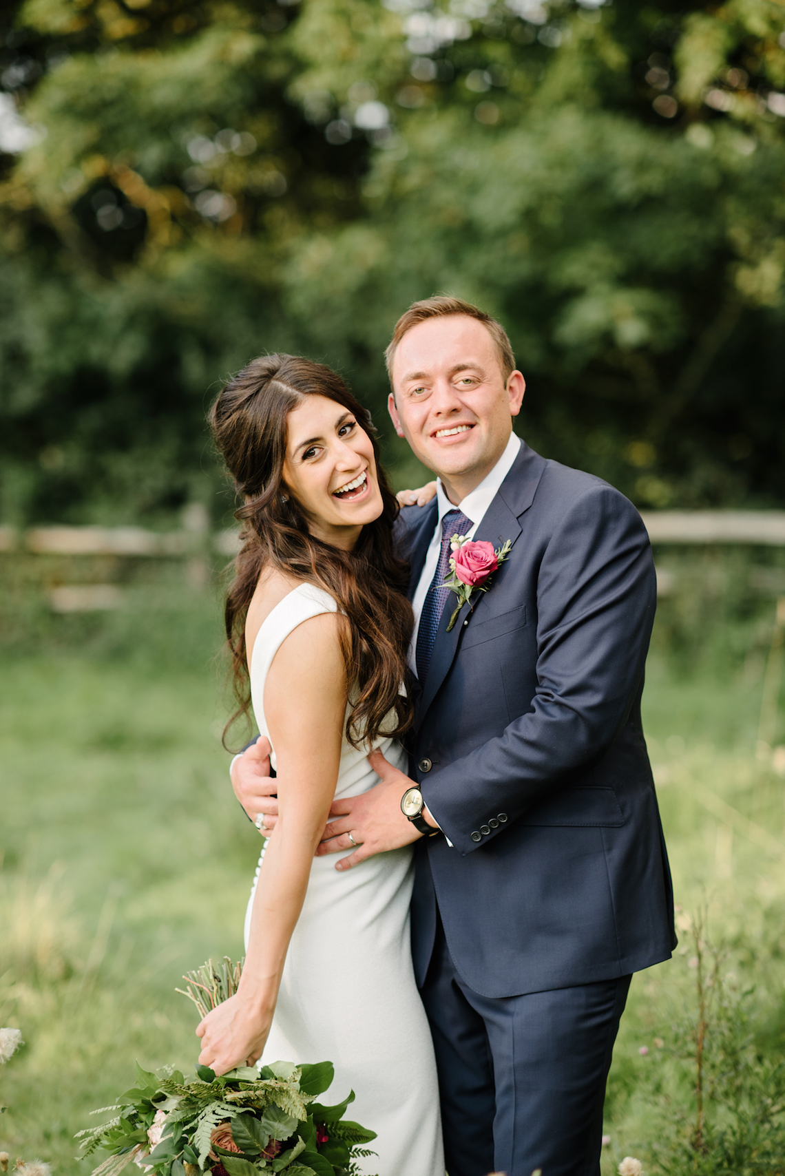 A Floral Explosion At An English Garden Wedding | Dominique Bader 28