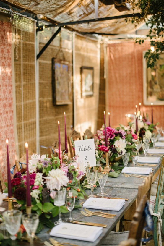 A Floral Explosion At An English Garden Wedding | Dominique Bader 35