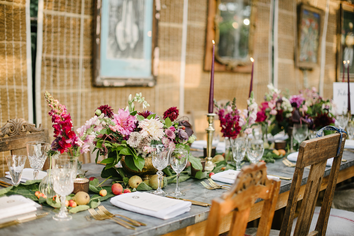 A Floral Explosion At An English Garden Wedding | Dominique Bader 8
