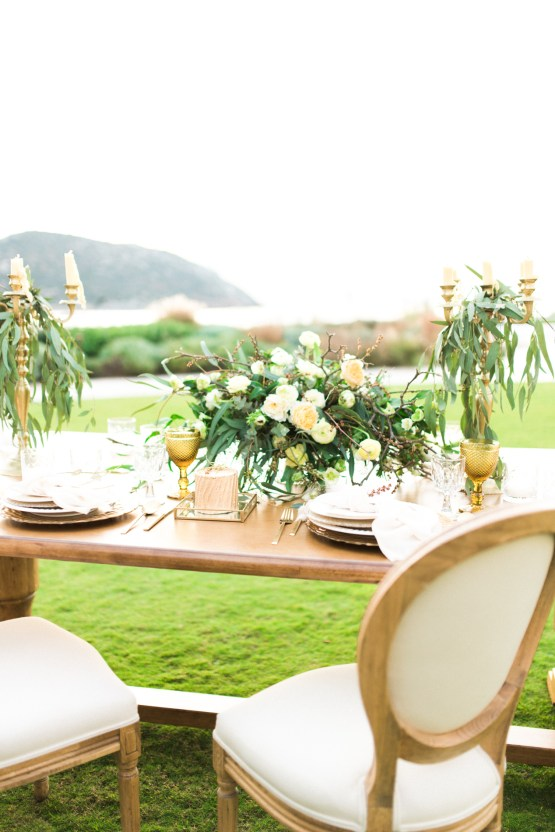 Earthy Organic Seaside Wedding Inspiration (& A Nude Wedding Dress) | George Liopetas 29
