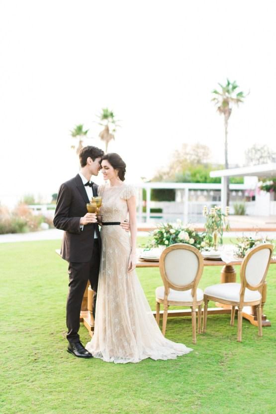 Earthy Organic Seaside Wedding Inspiration (& A Nude Wedding Dress) | George Liopetas 38