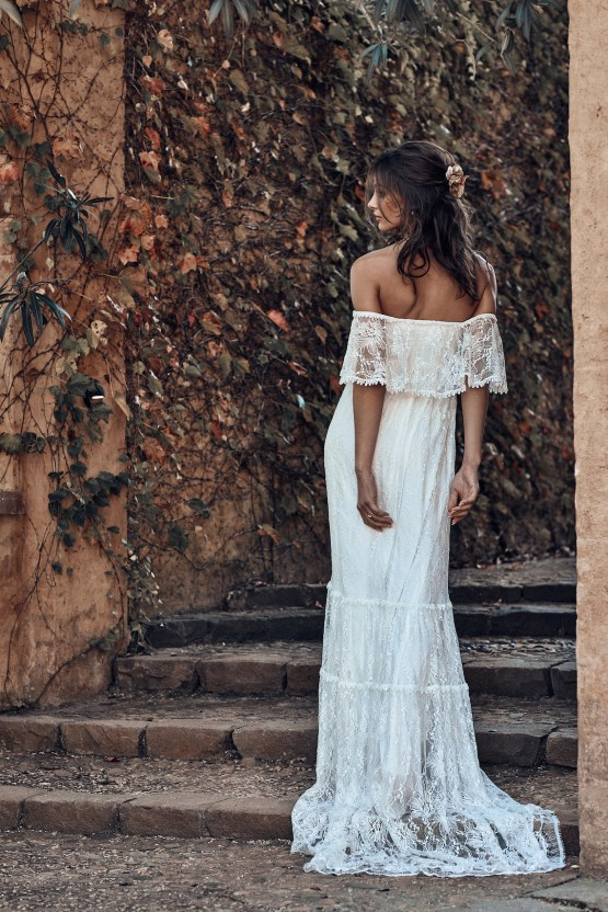 Free-Spirited Bohemian Icon Wedding Dress Collection by Graces Loves Lace | Franca 1