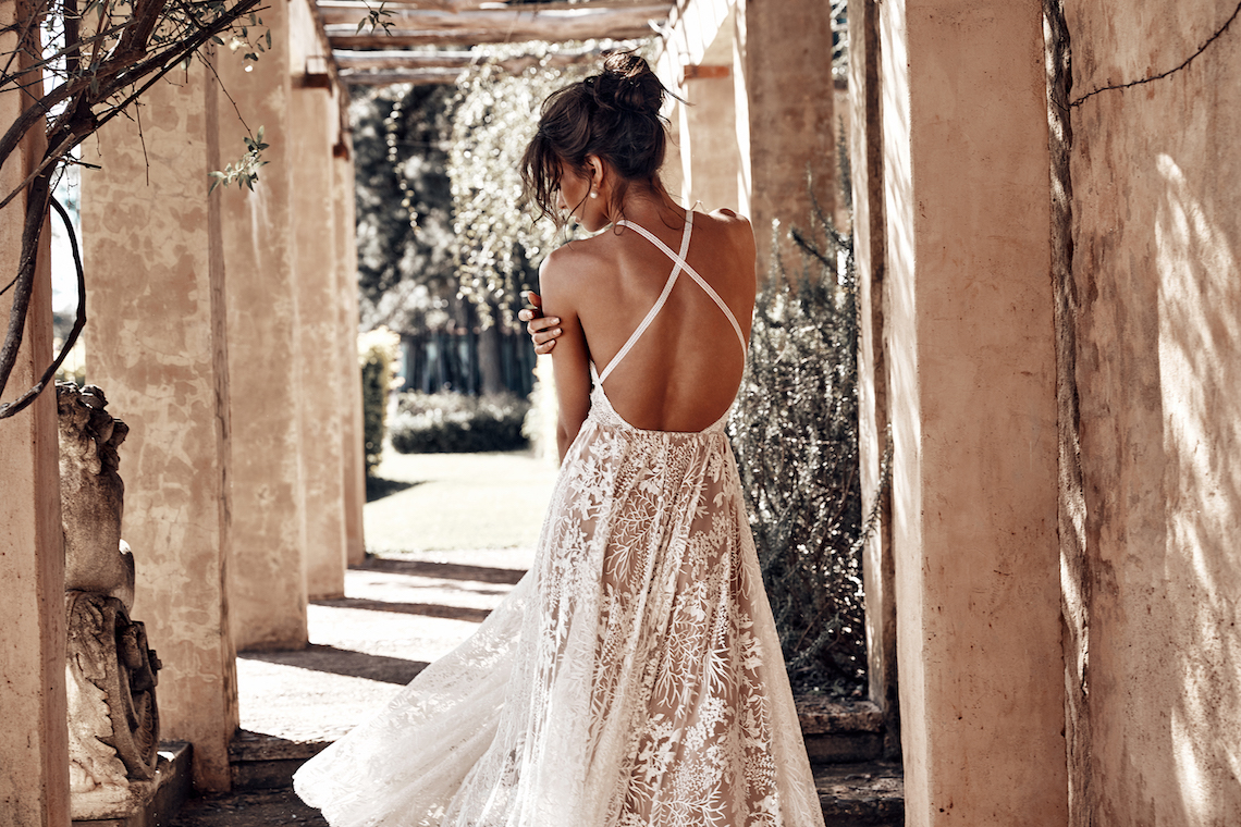 Free-Spirited Bohemian Icon Wedding Dress Collection by Graces Loves Lace | Harri 6