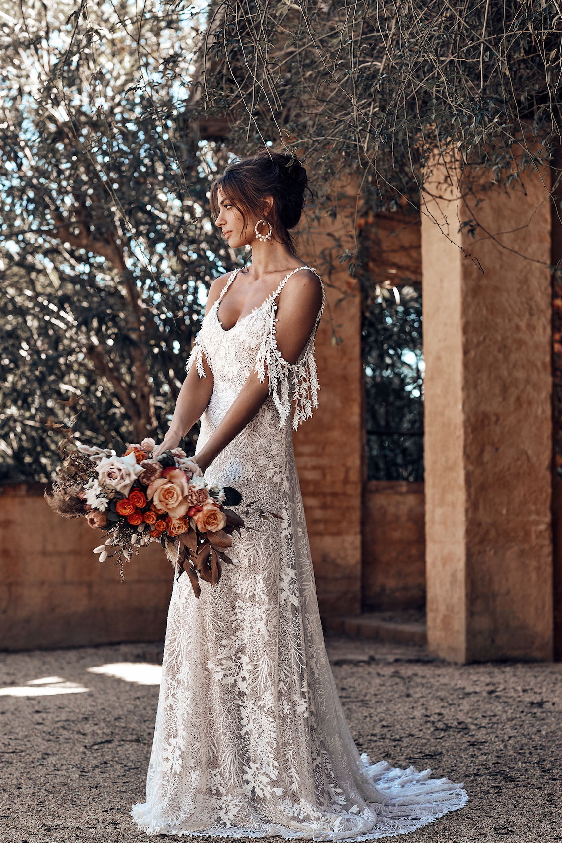 Free-Spirited Bohemian Icon Wedding Dress Collection by Graces Loves Lace | Sol 2