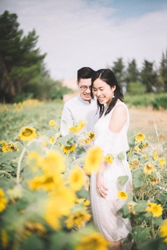 French Sunflower Wedding Inspiration | Teri B Photography 13