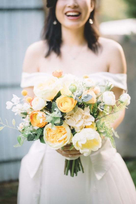 French Sunflower Wedding Inspiration | Teri B Photography 19