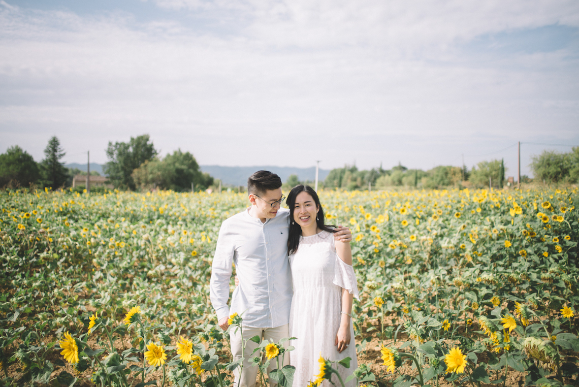 French Sunflower Wedding Inspiration | Teri B Photography 8