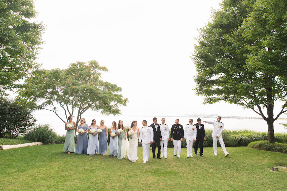 Nautical Military Wedding | Susie & Becky 14