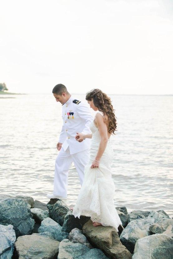 Nautical Military Wedding | Susie & Becky 54