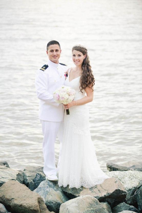 Nautical Military Wedding | Susie & Becky 55