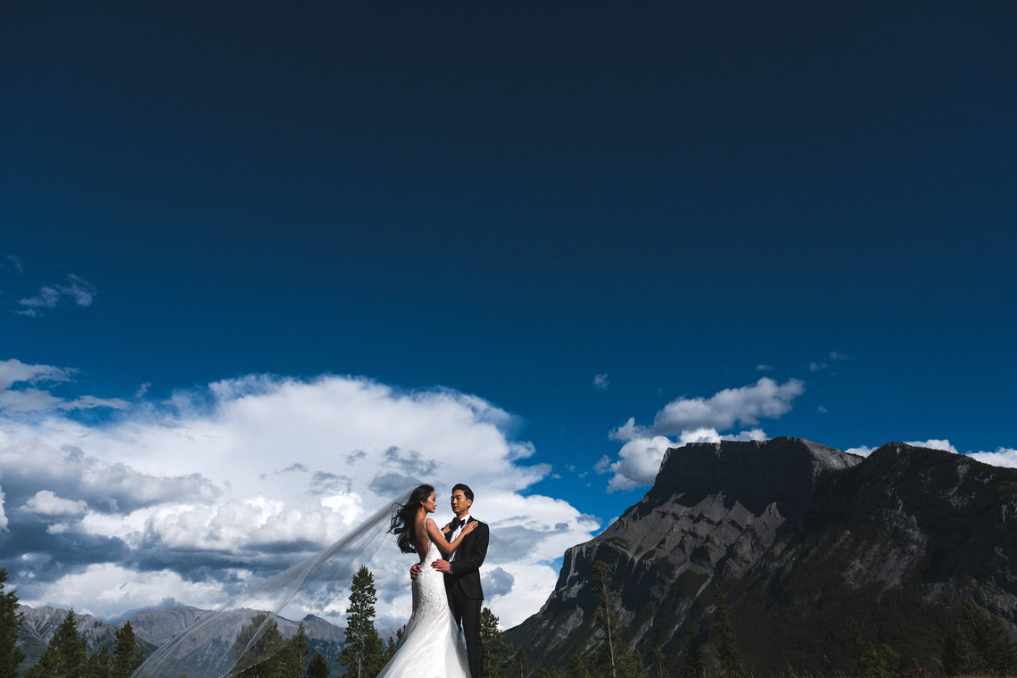 Regal, Disney-Inspired, Majestic Mountain Wedding | Carey Nash Photography 41