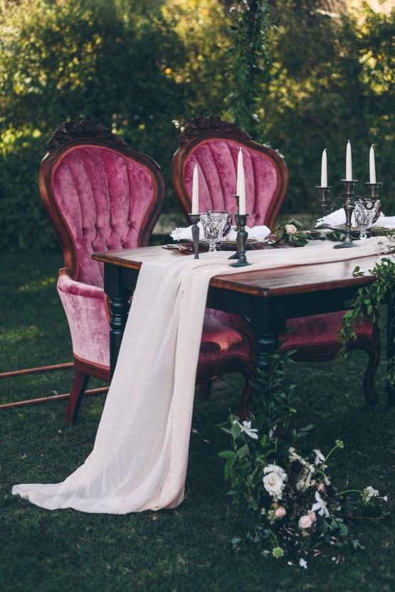 Rich & Rustic Malibu Mountains Ranch Wedding Inspiration | Vitae Weddings 12