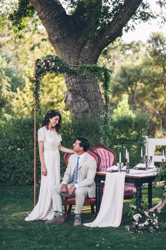 Rich & Rustic Malibu Mountains Ranch Wedding Inspiration | Vitae Weddings 17