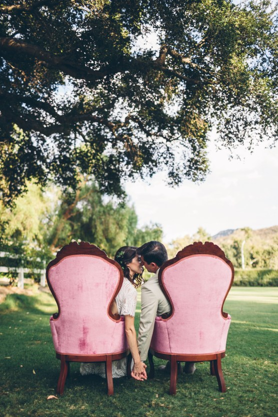 Rich & Rustic Malibu Mountains Ranch Wedding Inspiration | Vitae Weddings 19