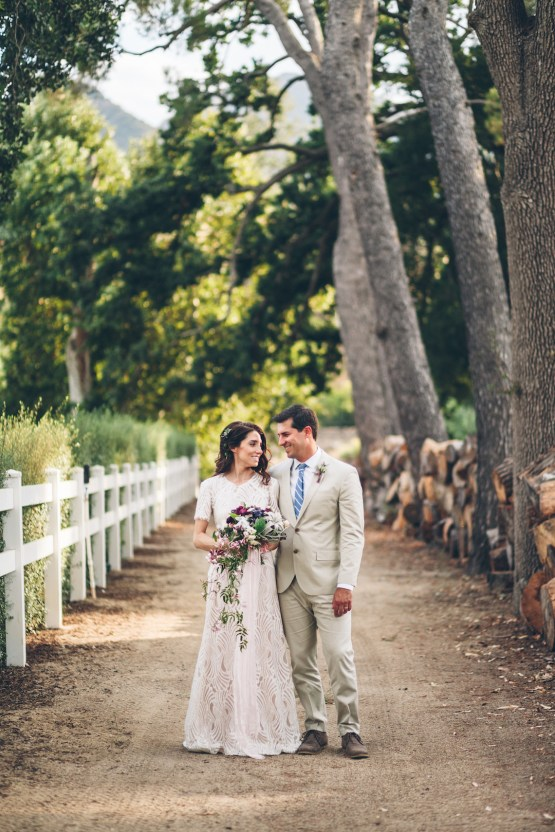 Rich & Rustic Malibu Mountains Ranch Wedding Inspiration | Vitae Weddings 23