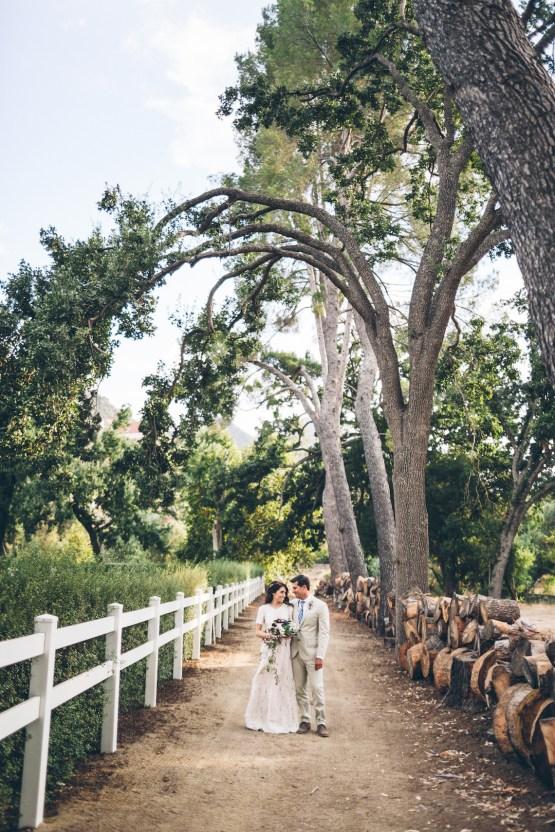 Rich & Rustic Malibu Mountains Ranch Wedding Inspiration | Vitae Weddings 24