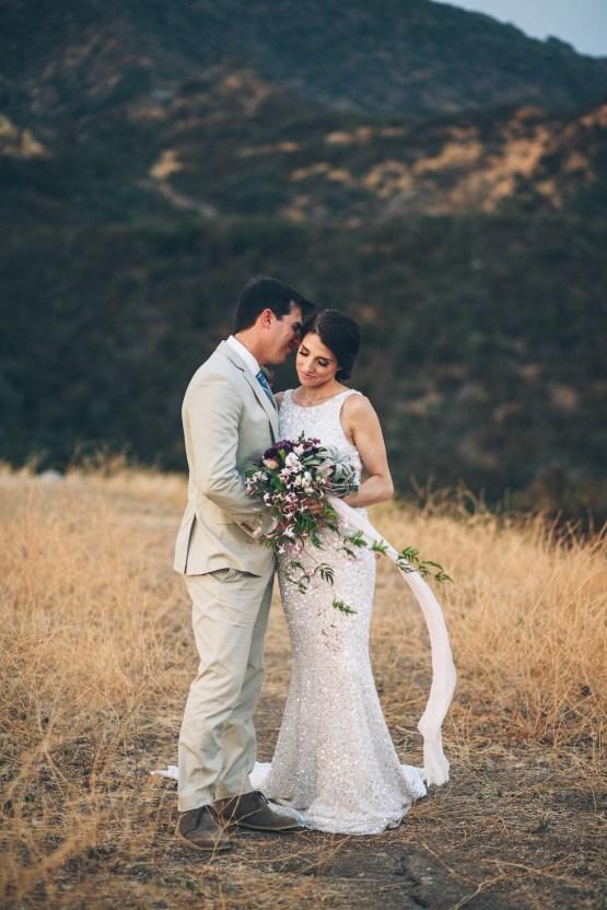 Rich & Rustic Malibu Mountains Ranch Wedding Inspiration | Vitae Weddings 37