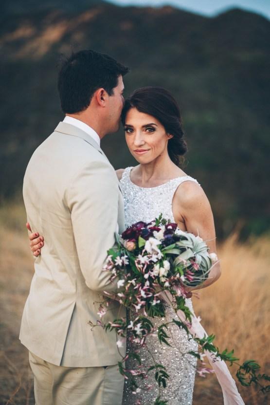 Rich & Rustic Malibu Mountains Ranch Wedding Inspiration | Vitae Weddings 38