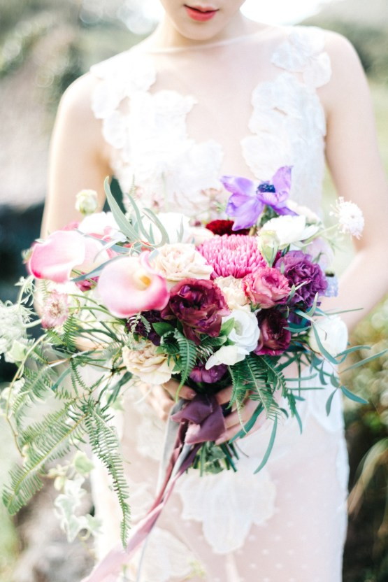 Whimsical Meadow Wedding Inspiration With Dried Florals | Olea & Fig Studio | The Stage Photography 3