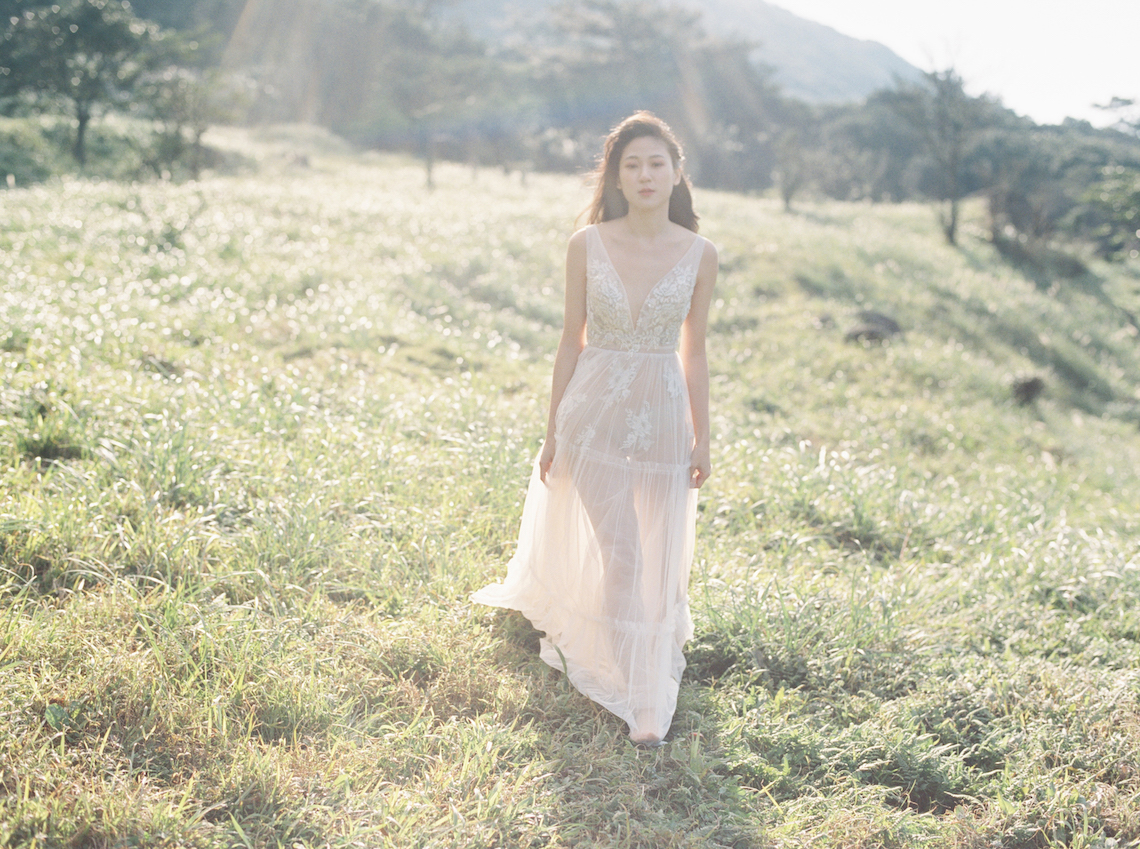 Whimsical Meadow Wedding Inspiration With Dried Florals | Olea & Fig Studio | The Stage Photography 44